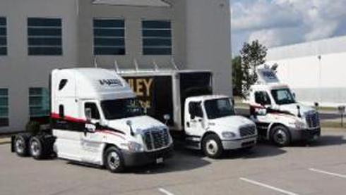 Trucking and warehouse logistics
